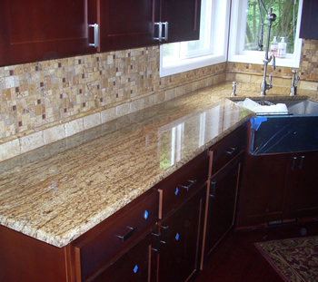 granite-tilework Swanstone Kitchen Countertops
