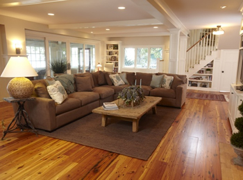 Wood flooring hardwood engineered wood laminate Carpet or wooden floor in living room