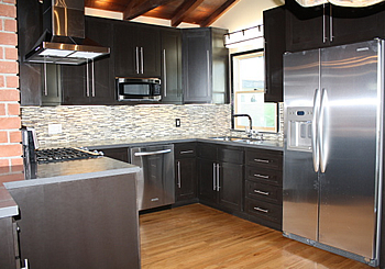 Modern Kitchen Remodel remodeling, renovation process - kitchens, bathrooms, home